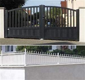 Portail Coulissant En Pente : l 39 installateur de portail alu coulissant et battant en france ~ Premium-room.com Idées de Décoration
