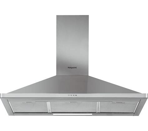 Buy HOTPOINT PHPN9.4FAMX Chimney Cooker Hood   Stainless