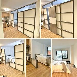 Interior, Solution, Room, Divider, That, Is, Freestanding, Decorative, With, Ability, To, Order, With, A, Door