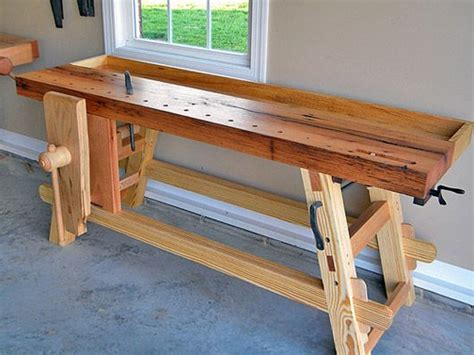 moravian workbench   myers woodworking