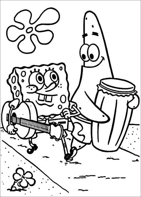 Kleurplaat Spongebob Printen by Kleurplaten Spongebob 13