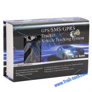 GPRS SMS GPS Tracker Vehicle Tracking System