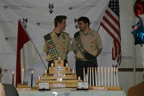 eagle scout candle holders eagle scout eagle boy scouts
