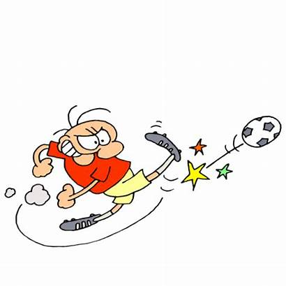 Soccer Clipart Clip Funny Player Play Goal