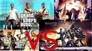 Saints Row 4 VS GTA 5: Which one looks better? - YouTube