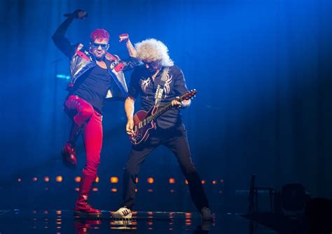 adam lambert review review queen and adam lambert are the chions of
