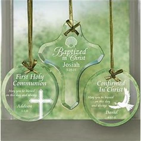 personalized religious glass ornament findgiftcom