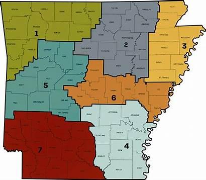 Map District Arkansas Richland Feb