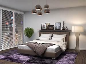 Moderne Lampen Schlafzimmer : 3d ~ Whattoseeinmadrid.com Haus und Dekorationen