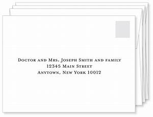 First impressions count a well addressed wedding for Wedding invitation envelope addressing family