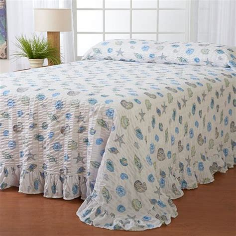 Seersucker Coverlet by New Seersucker Bedspread Coverlet Bedding