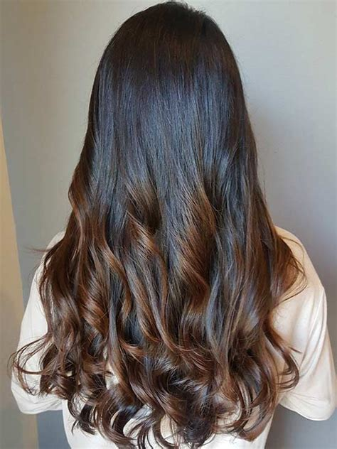 breathtaking ideas  styling  caramel highlights