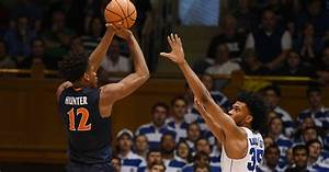 Virginia basketball's DeAndre Hunter suffers high ankle ...