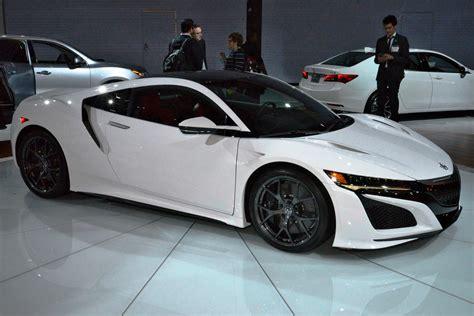 2017 acura nsx white 1 car revs daily com