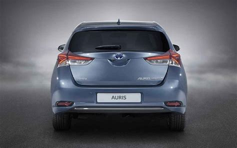 New Cars New 20192020 Toyota Auris Rear View  New Type
