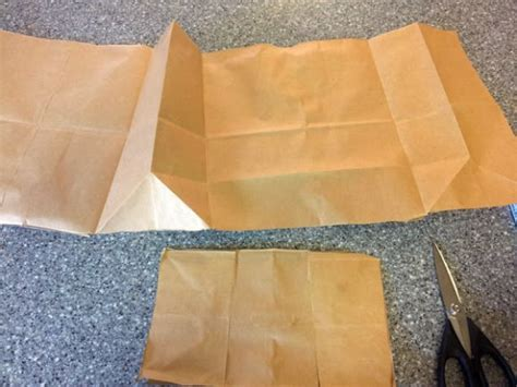 paper bag book cover how to make a paper bag book cover