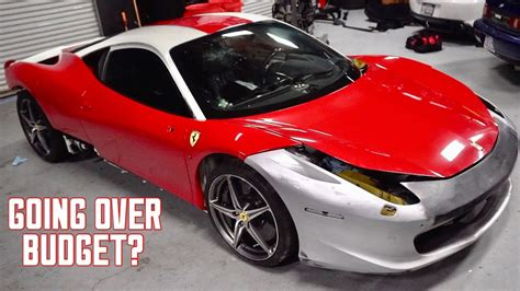 How Much Is The 458 by How Much Money I Ve Spent On My Wrecked 458