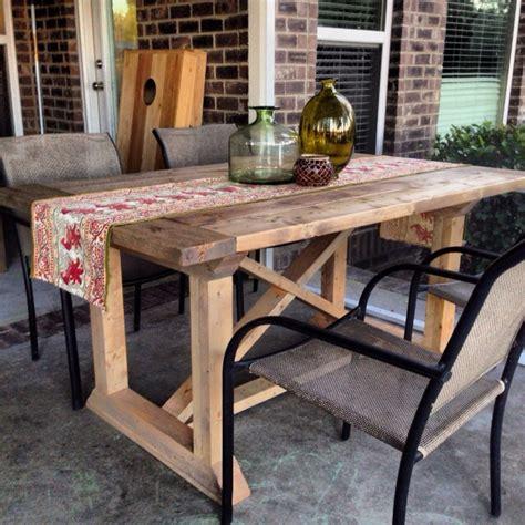diy dining table plans diy rekourt farmhouse dining table plans