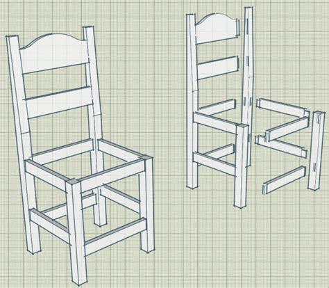 forum association les copeaux fabrication plan de chaises