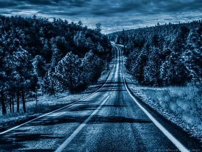 Road Night 4k 2048 2560 Wallpapers Moon