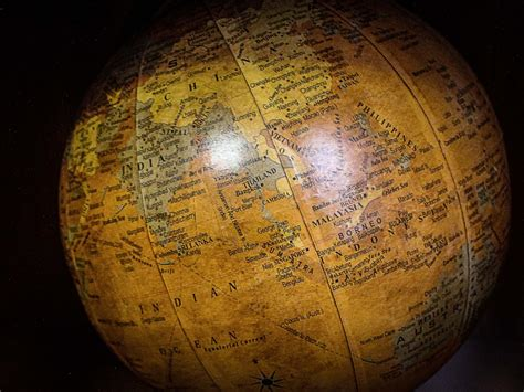 images antique yellow lighting decor map globe