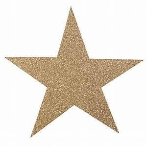 Gold Glittered Star Cut Outs - Shindigz