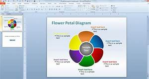 Editable Flower Petal Powerpoint Template