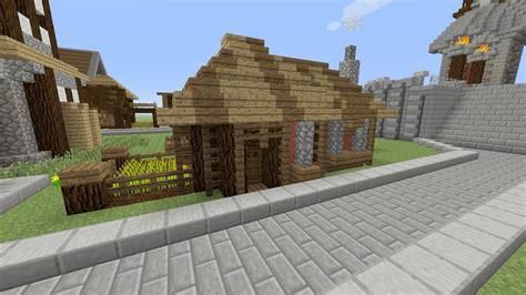 Klein Huisje Bouwen by Minecraft Een Dorp Bouwen Deel 16 Een Klein Huisje