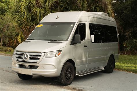 It could hold up to 12 passengers, and anyone just shy. Pre-Owned 2019 Mercedes-Benz Sprinter Passenger Van Full-size Passenger Van in Sarasota #JP9097 ...