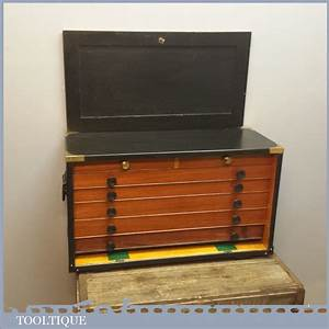 Superb Vintage Pattern Makers Tool Chest with 7 Drawers