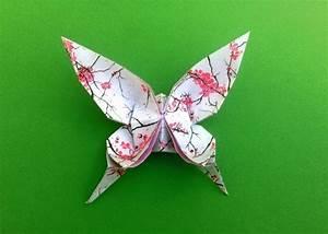 Origami Schmetterling Anleitung : wundersch ne schmetterlinge basteln ~ Frokenaadalensverden.com Haus und Dekorationen