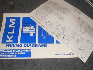 1987 Dodge Charger Omni Plymouth Horizon Turismo Wiring