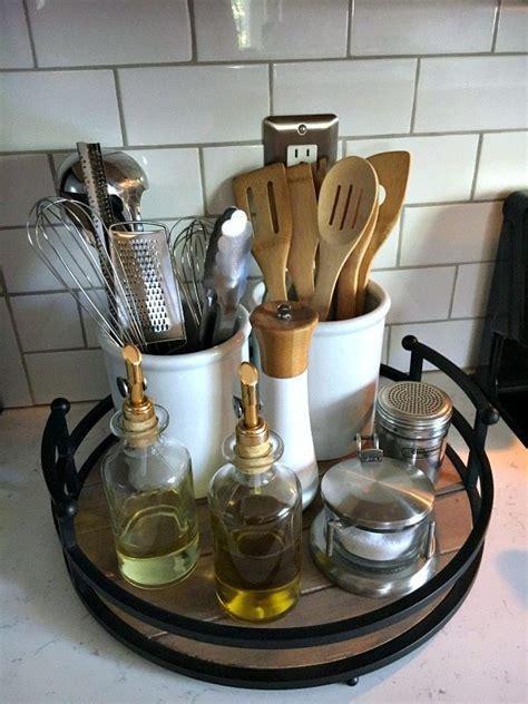 kitchen utensil storage ideas  pinterest