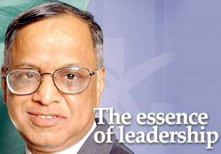 leadership lessons  infosys narayana murthy inspire