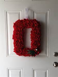 Ohio State Block O Wreath