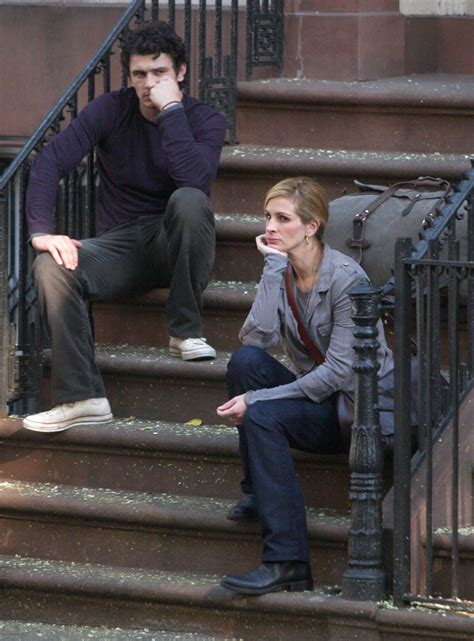 Photos of James Franco and Julia Roberts Filming Eat, Pray ...