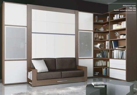 armoire lit canapé escamotable 23 best lit escamotable images on wall beds