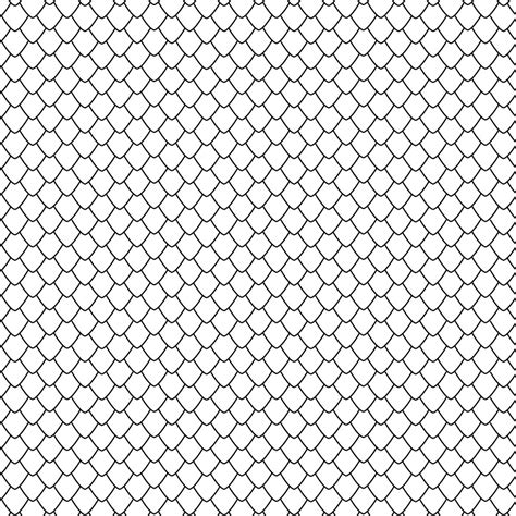 Email Template Pattern by Scale Pattern Large Scales Inlay Paper Stencil