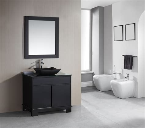 36 Inch Single Sink Bathroom Vanity with Built in LED