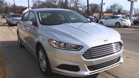 ford fusion se silver  youtube