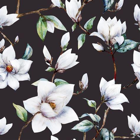 vintage magnolia removable peel  stick wallpaper