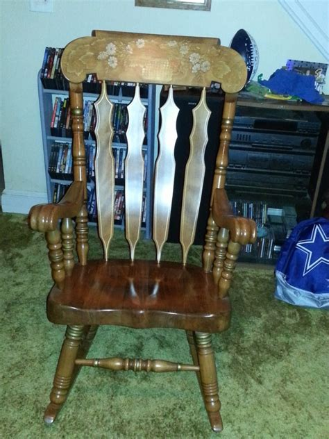 how much is sk 514 rocking chair worth its great shape no
