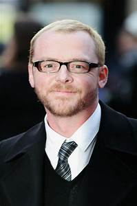 Simon Pegg in UK Charity Premiere: 'Iron Man' - Arrivals ...