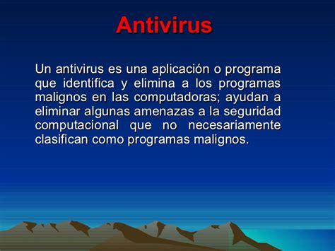 Concepto De Antivirus Diapositivas
