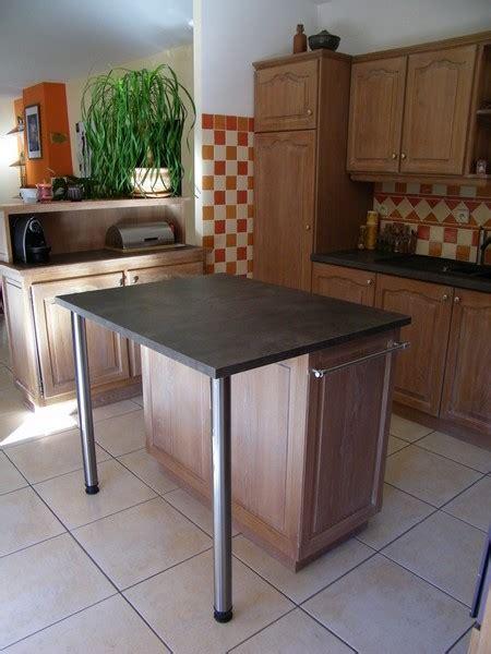 meuble pour ilot cuisine en image