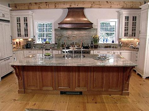kitchen island rustic designs rustic hideaway kitchen hgtv 5145
