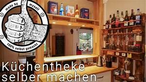 Kellerbar Selber Bauen : k chen bar theke selber bauen selber machen diy palettenm bel youtube ~ Watch28wear.com Haus und Dekorationen