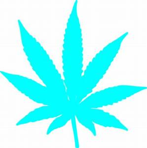 Neon Blue Leaf Dude Clip Art at Clker vector clip
