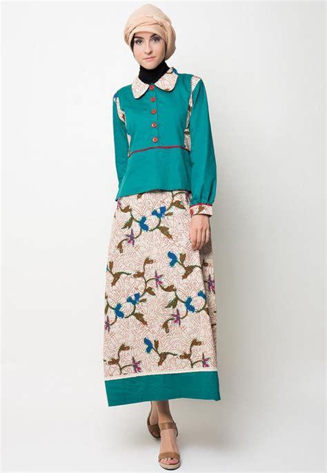 baju gamis sederhana trend model baju gamis baju batik baju muslim 2015