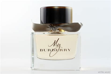 burberry my burberry eau de toilette writing whimsy